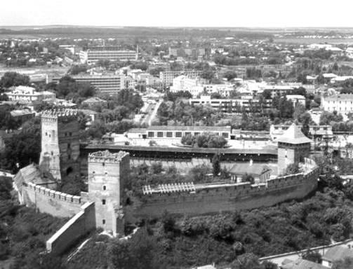 Замок у Луцьку
